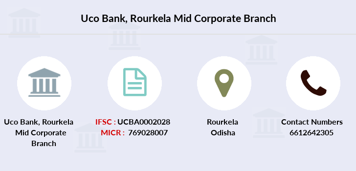 Uco-bank Rourkela-mid-corporate branch