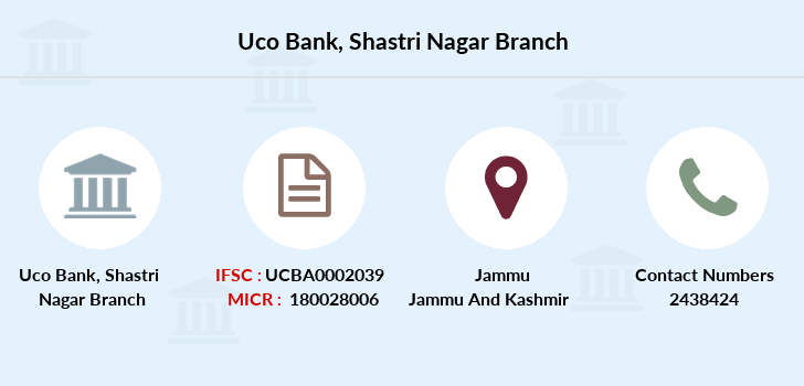 Uco-bank Shastri-nagar branch