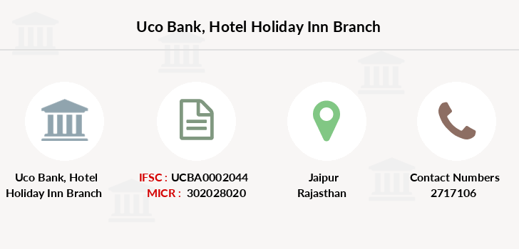 Uco-bank Hotel-holiday-inn branch