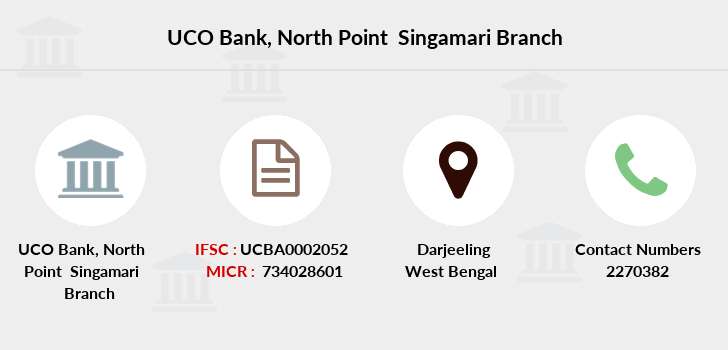 Uco-bank North-point-singamari branch