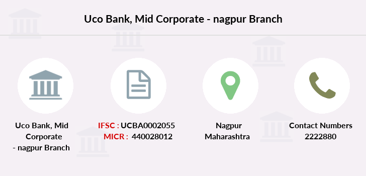 Uco-bank Mid-corporate-nagpur branch