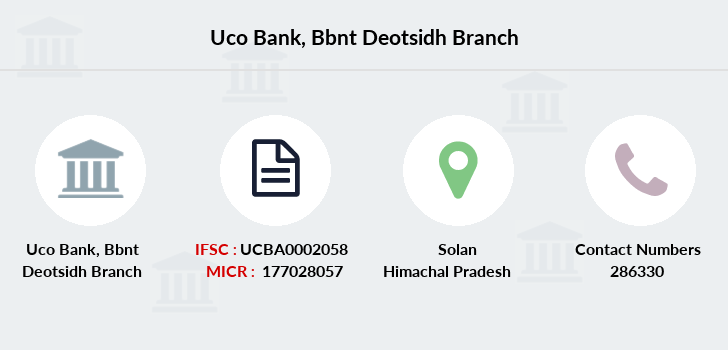 Uco-bank Bbnt-deotsidh branch