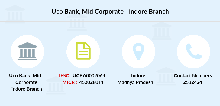 Uco-bank Mid-corporate-indore branch
