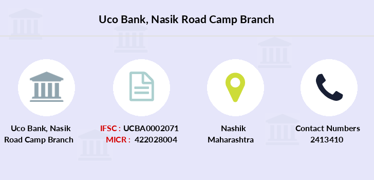 Uco-bank Nasik-road-camp branch
