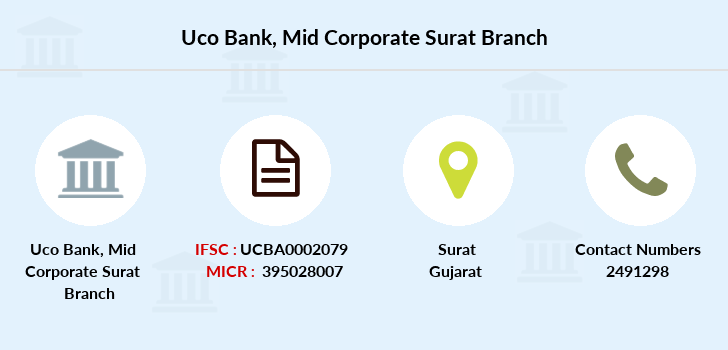 Uco-bank Mid-corporate-surat branch