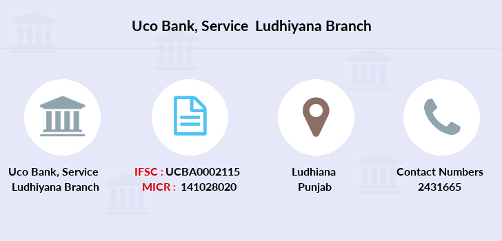 Uco-bank Service-ludhiyana branch