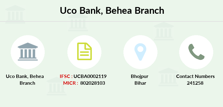 Uco-bank Behea branch