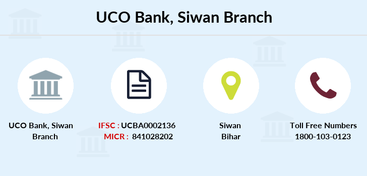 Uco-bank Siwan branch