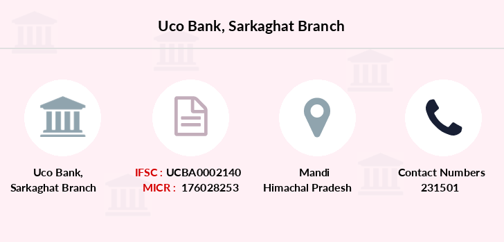 Uco-bank Sarkaghat branch