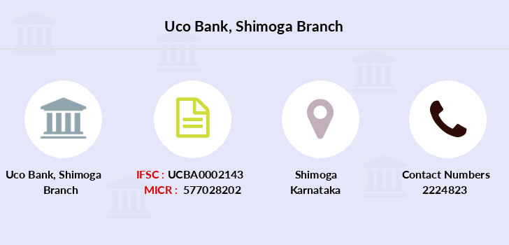 Uco-bank Shimoga branch