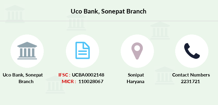 Uco-bank Sonepat branch