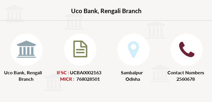 Uco-bank Rengali branch