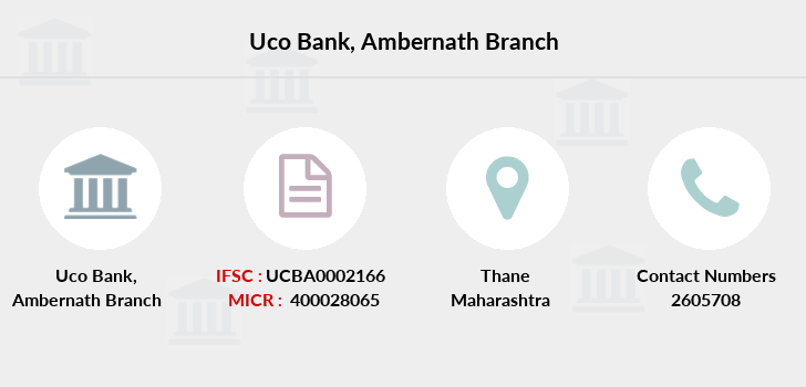 Uco-bank Ambernath branch