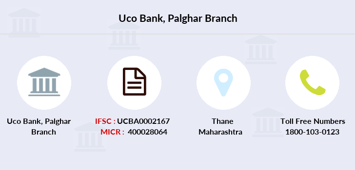 Uco-bank Palghar branch