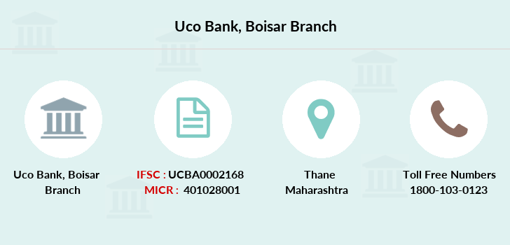 Uco-bank Boisar branch