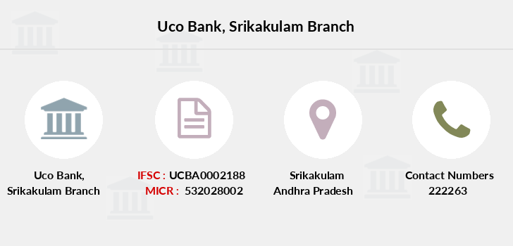 Uco-bank Srikakulam branch