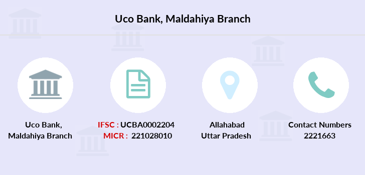 Uco-bank Maldahiya branch