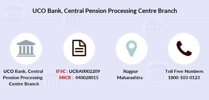 Uco-bank Central-pension-processing-centre branch