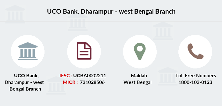 Uco-bank Dharampur-west-bengal branch