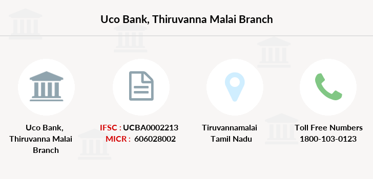 Uco-bank Thiruvanna-malai branch