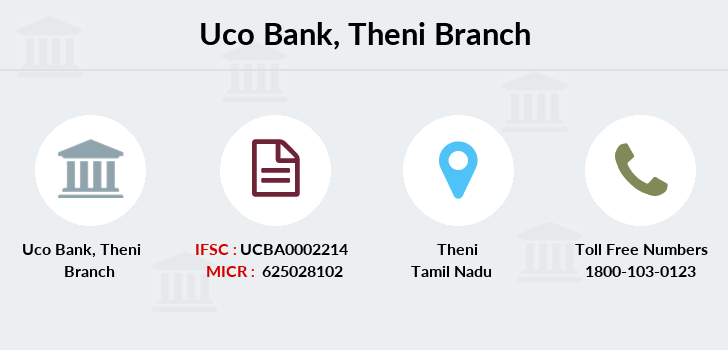 Uco-bank Theni branch