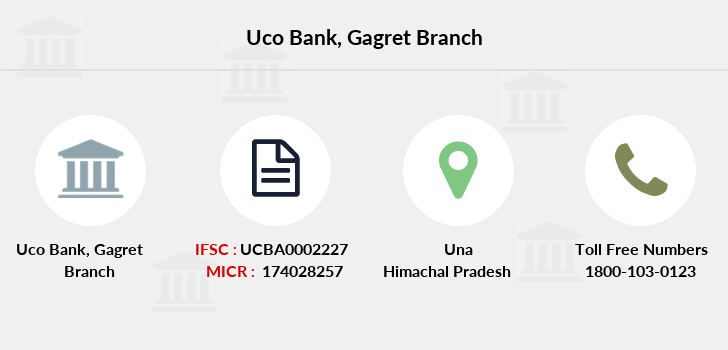 Uco-bank Gagret branch