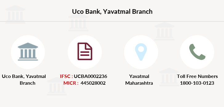 Uco-bank Yavatmal branch