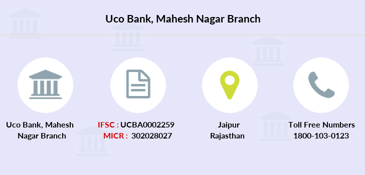 Uco-bank Mahesh-nagar branch