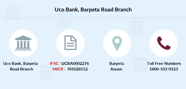 Uco-bank Barpeta-road branch