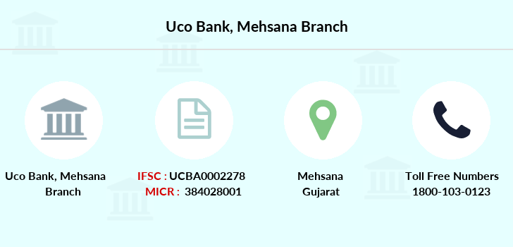 Uco-bank Mehsana branch