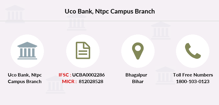 Uco-bank Ntpc-campus branch
