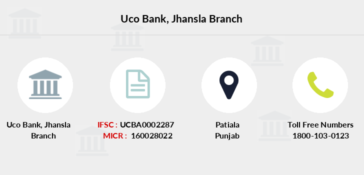 Uco-bank Jhansla branch