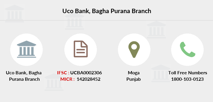 Uco-bank Bagha-purana branch