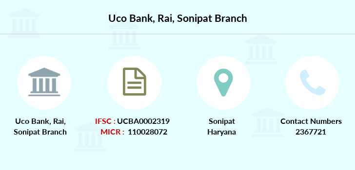 Uco-bank Rai-sonipat branch