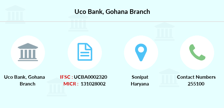 Uco-bank Gohana branch