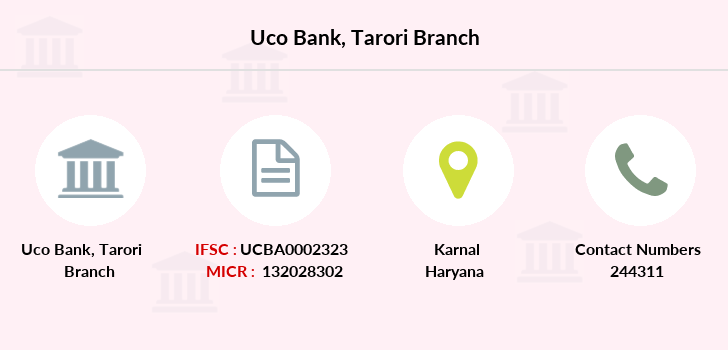 Uco-bank Tarori branch
