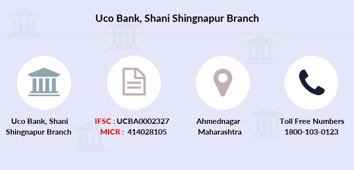 Uco-bank Shani-shingnapur branch