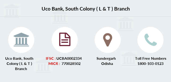 Uco-bank South-colony-l-t branch