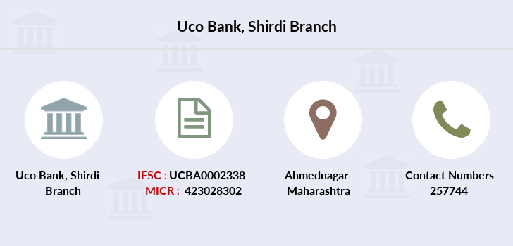 Uco-bank Shirdi branch