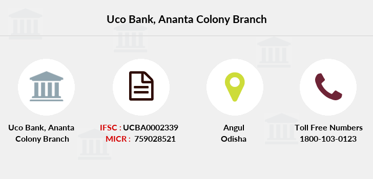 Uco-bank Ananta-colony branch
