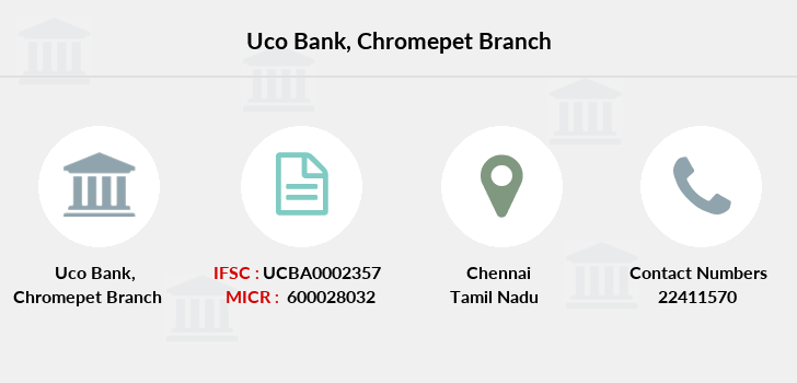 Uco-bank Chromepet branch