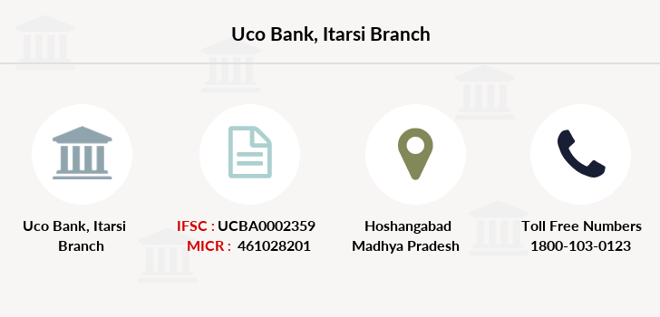 Uco-bank Itarsi branch