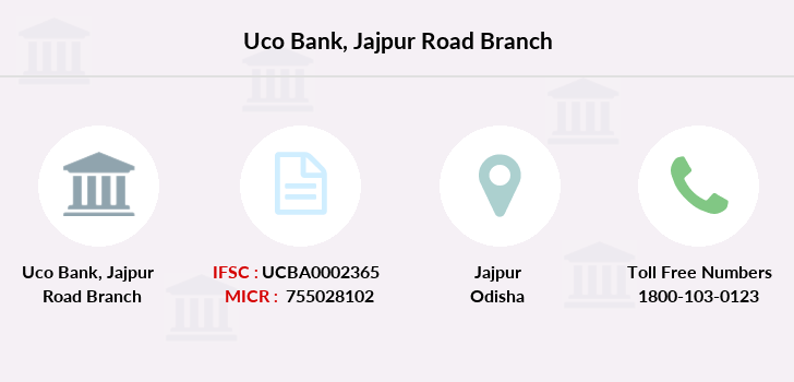 Uco-bank Jajpur-road branch