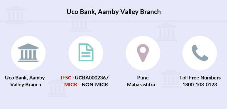 Uco-bank Aamby-valley branch
