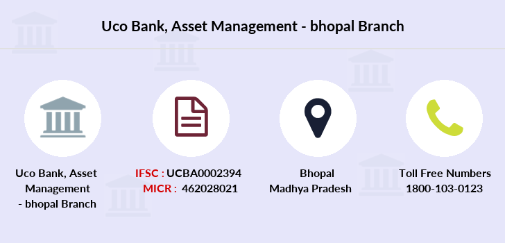 Uco-bank Asset-management-bhopal branch