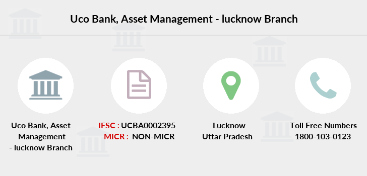 Uco-bank Asset-management-lucknow branch