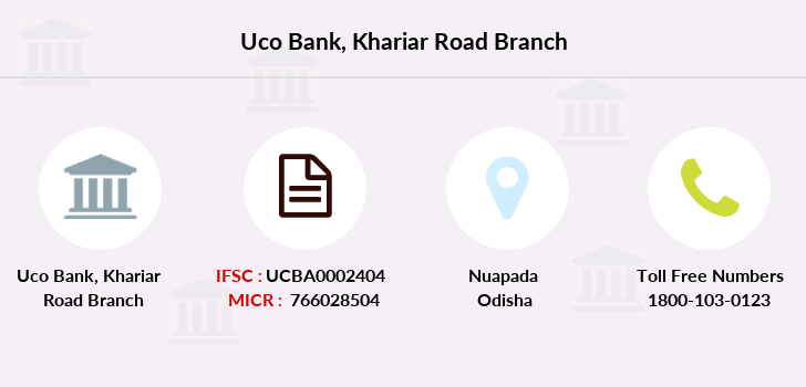 Uco-bank Khariar-road branch