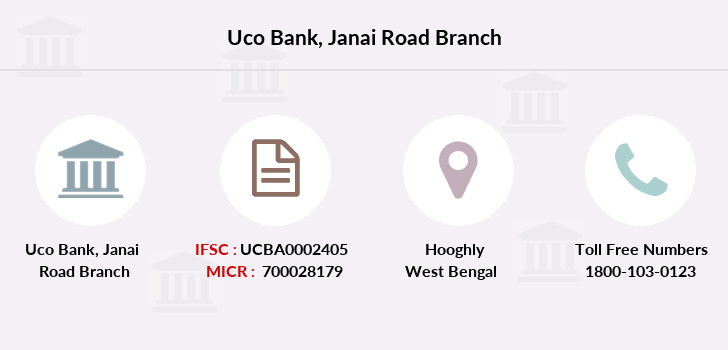 Uco-bank Janai-road branch