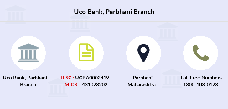Uco-bank Parbhani branch