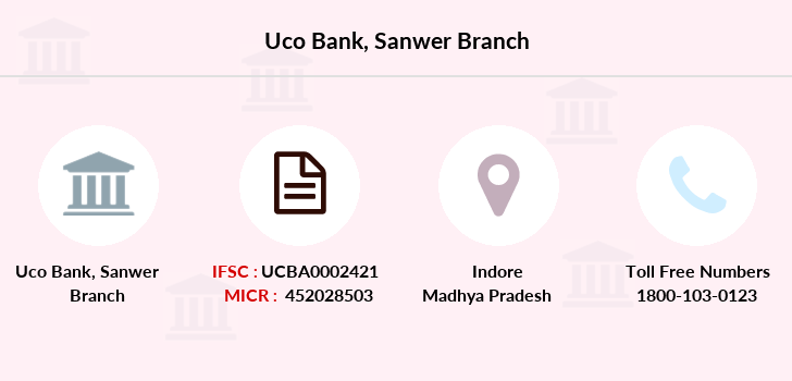 Uco-bank Sanwer branch